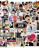 50pcs Hot British Singer Harry Edward Styles Stickers For Car Laptop