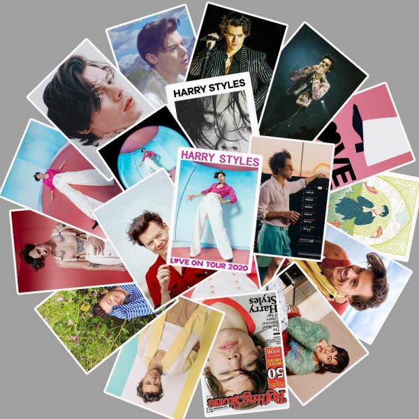 25pcs Famous Singer Harry Edward Styles Stickers