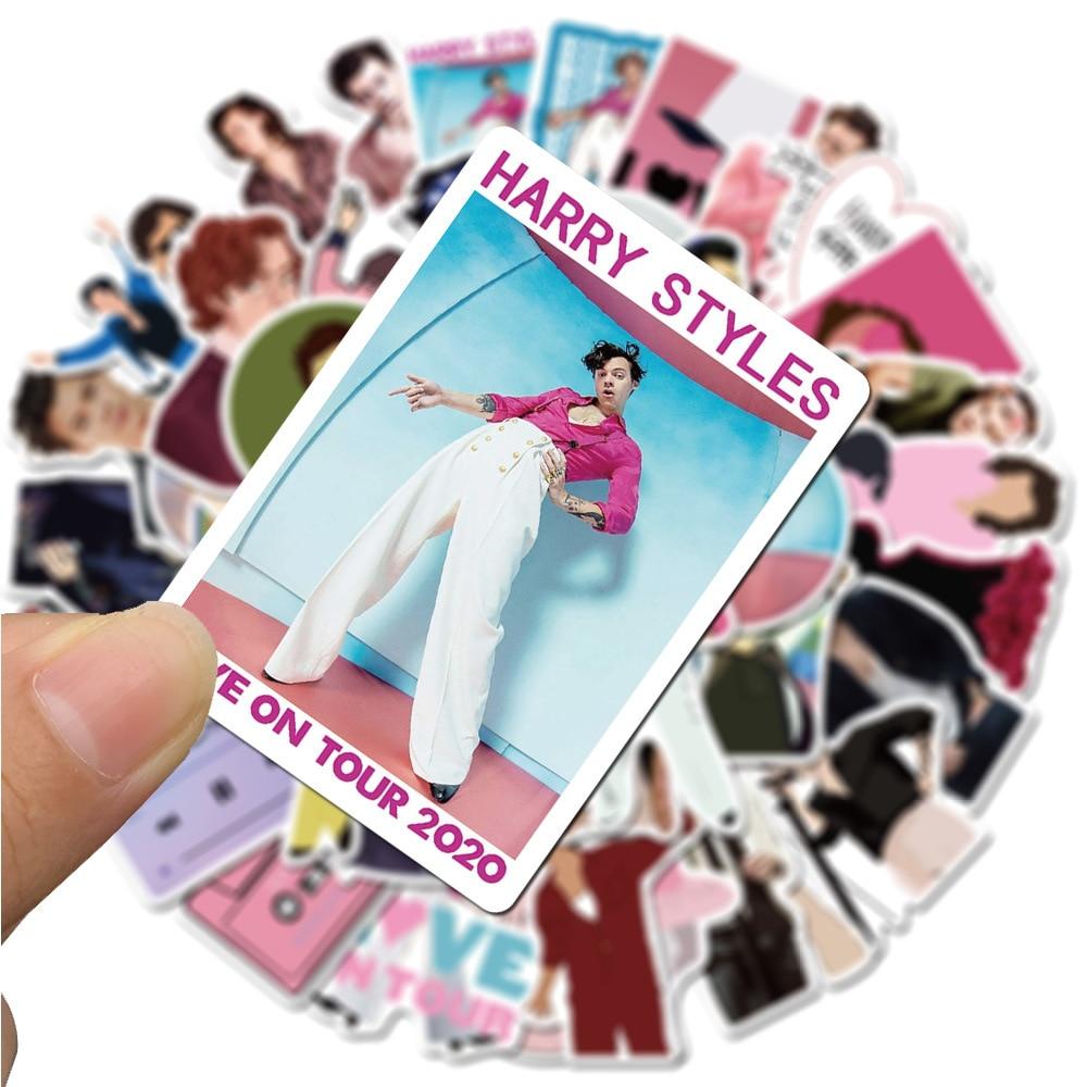 50PCS Singer Harry Styles Stickers