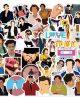 10/50pcs Cool British Singer Harry Styles Stickers