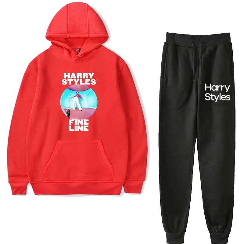Harry Styles Fine Line Fleece Hoodie Sweatshirt SET