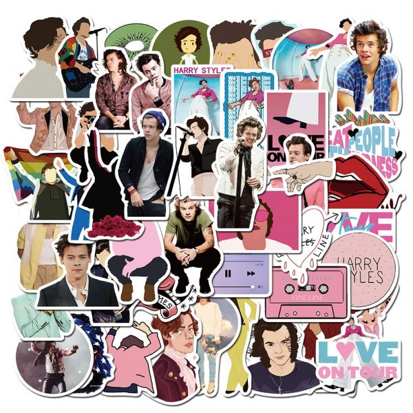 50PCS Singer Harry Styles Stickers