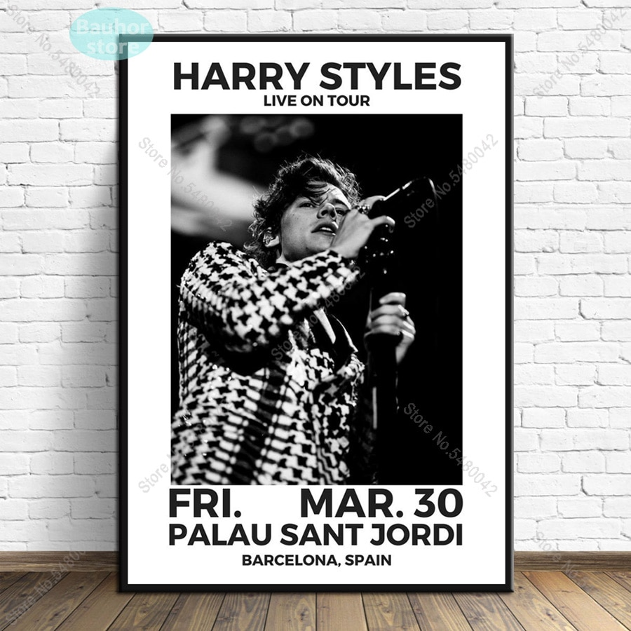 Harry Styles Poster World Tour Painting Poster