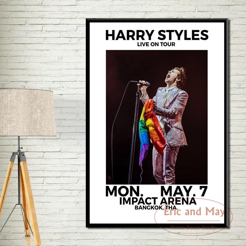 Harry Styles Latest Wall Art