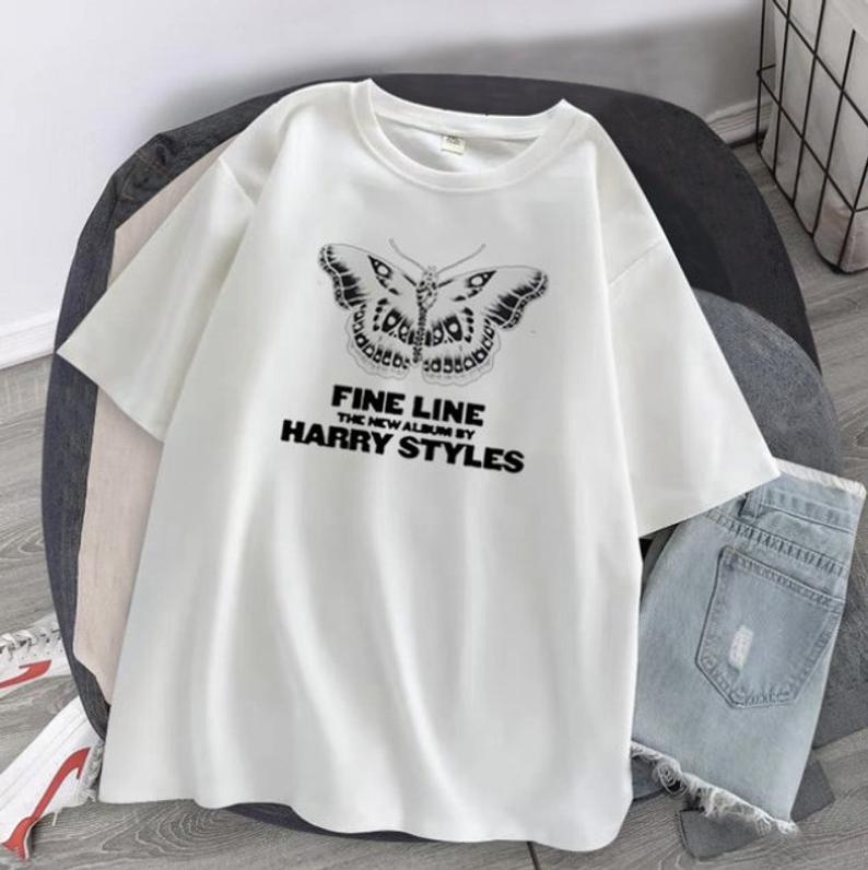 Harry Styles Fine LINE Butterfly T-shirt